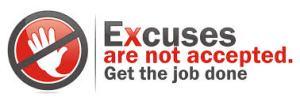 Excuses, Time Management, Management, Procrastination, Performance