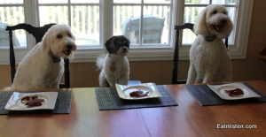 Dogs-Eating-Bacon